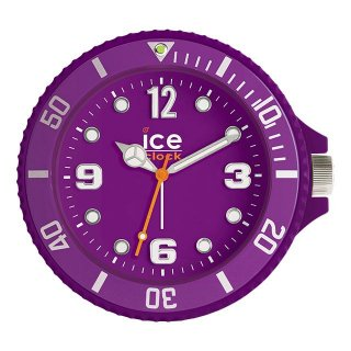 【ICE CLOCK】目覚まし時計 アラームクロック アイスクロック(パープル )・IAFPE