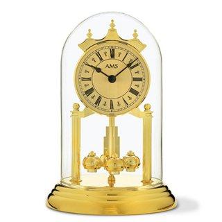 【AMS】置き時計 Funkuhren(ゴールド)・AMS1203