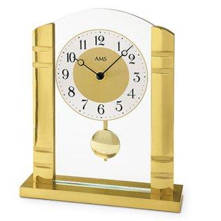 【AMS】置き時計 Funkuhren(ゴールド)・AMS1117