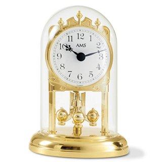 【AMS】置き時計 Funkuhren(ゴールド)・AMS1101