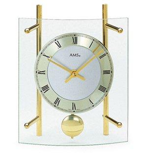 【AMS】置き時計 Funkuhren(ゴールド)・AMS135