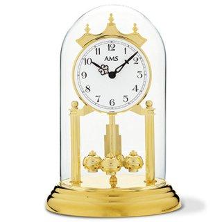 【AMS】置き時計 Funkuhren(ゴールド)・AMS1201