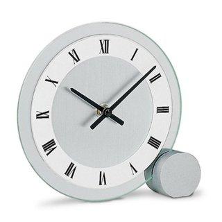 【AMS】置き時計 Funkuhren(シルバー)・AMS166
