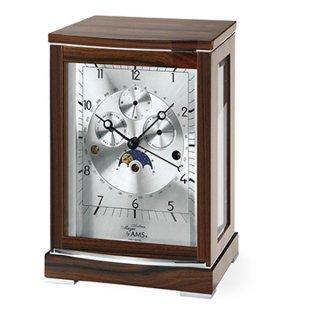 【AMS】置き時計 Funkuhren(ウォルナット)・AMS2171-1