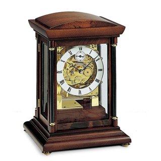 【AMS】置き時計 Funkuhren(ウォルナット)・AMS2187-1