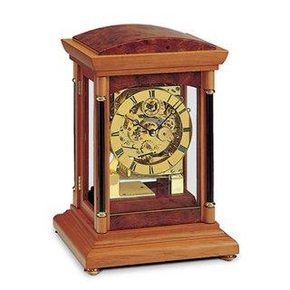 【AMS】置き時計 Funkuhren(チェリーウッド)・AMS2187-9
