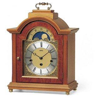 【AMS】置き時計 Funkuhren(チェリーウッド)・AMS2195-9
