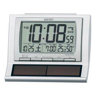 【SEIKO】デジタル時計 ハイブリッドソーラー(白パール塗装)・SQ751W