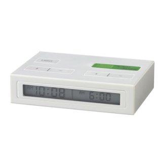 在庫限り!【TKM】ティーケーエム 置き時計 トラベルクロック JETLAG(ライトグレー)・TKM42-LGY