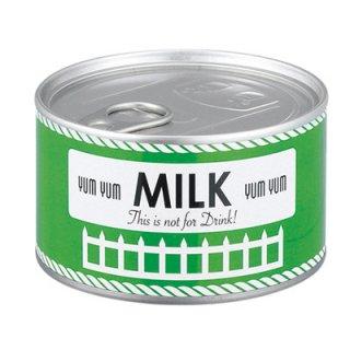 【インターフォルム】置き時計 MILK[ミルク](グリーン)・CL-4676