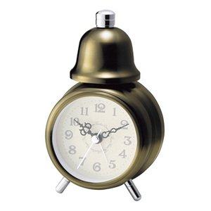 【インターフォルム】目覚まし時計 DEAR [ディア](ゴールド)・CL-4982GD