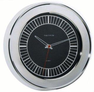 【Hermle】掛け時計 CHROME(シルバー)・30819-2100