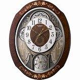 【SmallWorld】スモールワールドからくり・アミュージング時計スモールワールドティアモ(茶色象嵌仕上(白))・4MN521RH06