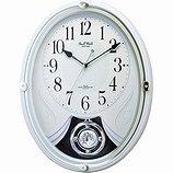 【SmallWorld】スモールワールドからくり・アミュージング時計スモールワールドリリィ(白(白))・4MN528RH03
