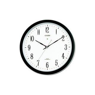 【CITIZEN】掛け時計スタンダードネムリーナM691F(シルバーメタリック色)・4MY691-N19