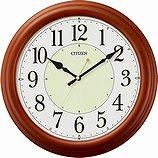 【CITIZEN】掛け時計スタンダードナチュライトM798(茶色半艶仕上)・8MG798-006