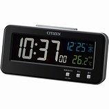 【CITIZEN】デジタル時計AC電源式シシリアンネオン(黒)・8RDA68-002
