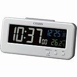 【CITIZEN】デジタル時計AC電源式シシリアンネオン(白)・8RDA68-003