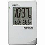 【CITIZEN】目覚まし時計トラベラーパルデジットビブラート(白)・8RZ159-003