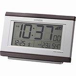 【CITIZEN】デジタル時計電子音アラームパルデジットキング(茶色木目仕上)・8RZ161-006