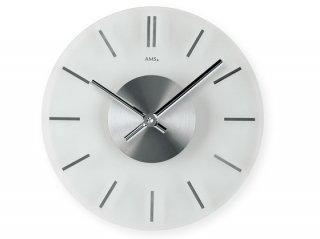 【AMS】掛け時計 Design(アルミ)・AMS9318