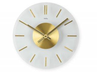 【AMS】掛け時計 Design(ゴールド)・AMS9319