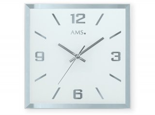 【AMS】掛け時計 Design(スクエア)・AMS9324