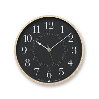 【Lemnos】DESIGN OBJECTS 電波掛け時計 TOKI(グレー)・AWA13-05GY