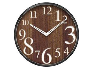 【誠時】掛け時計Sete(セテ)(ブラウン)・CI-005