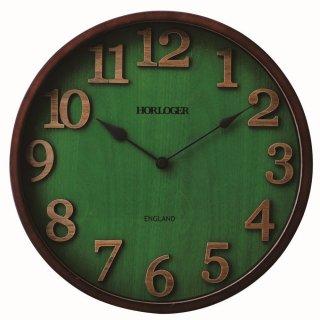【インターフォルム】電波掛け時計 ENGLAND [イングランド](ナチュラル)・CL-7542