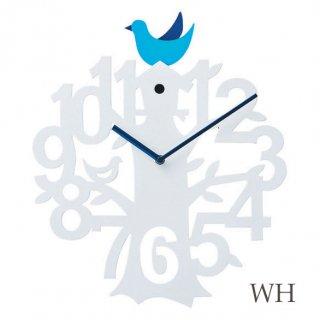 【インターフォルム】掛け時計 VISERRY [ビゼリー](ホワイト)・CL-8940WH