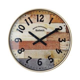 【インターフォルム】電波掛け時計 BUSHWICK [ブッシュウィック](アイボリー)・CL-9361IV