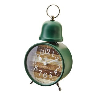 【インターフォルム】置き時計 Oster(グリーン)・CL-9593GN