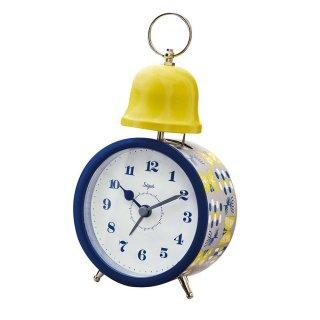 【インターフォルム】置き時計 Aani(ブルー)・CL-9594