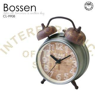 【インターフォルム】置き時計 Bossen(ナチュラル)・CL-9908