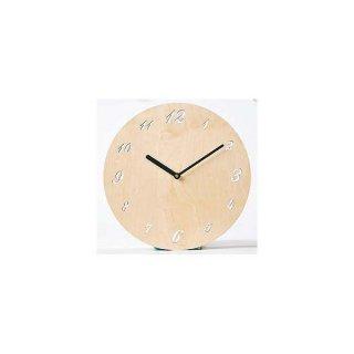 【ササキ工芸】掛け時計 ボードクロック(メープル)・CL-BRD-M
