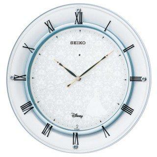 【SEIKO】掛け時計 大人ディズニー(白パール塗装)・FS503W