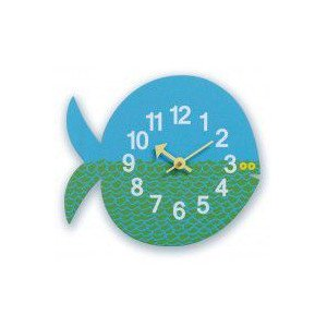 【GEORGE NELSON CLOCK】掛時計 ジョージ・ネルソン Zoo Timer Clock(フィッシュ)・GN091102