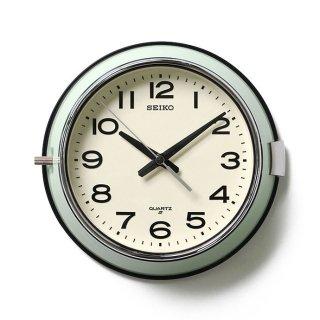 【SEIKO】バスクロック 防塵型クオーツ掛け時計 KS474M