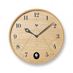 【Lemnos】CASA 掛け時計 PACE(ナチュラル)・LC11-09NT