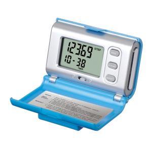 【SMARTEK】歩数計 体脂肪計付き歩数計(ブルー)・MP-113-BL