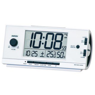 【PYXIS】デジタル時計 ライデン(白パール塗装)・NR534W