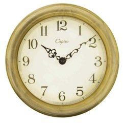 【CAPITO】掛け時計 Antique Wooden Wall Clock(ナチュラル)・OP-CAPWOOD-NA