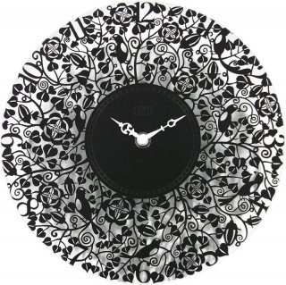 【CAPITO】掛け時計 SEVEN BIRD METALCLOCK(ブラック)・OP-SEVEN-BK