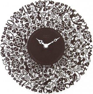 【CAPITO】掛け時計 SEVEN BIRD METALCLOCK(ブラウン)・OP-SEVEN-BR