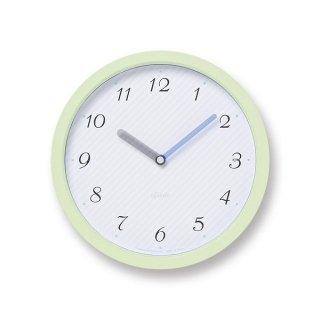 【Lemnos】Plain 掛け時計 chouchou(グリーン)・PC11-24LGN