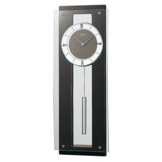 【SEIKO】掛け時計 スタンダード(濃茶木地塗装)・PH450B
