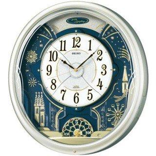 【SEIKO】掛け時計 からくり時計(薄金色パール塗装 光沢仕上げ)・RE561H