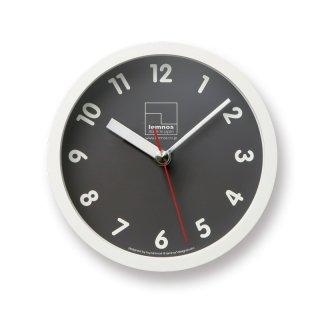 ※在庫のみ【Lemnos】KID'S+MODERN 置き掛け両用時計 Kitchen clock(グレー)・T1-025GY