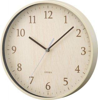 【rimlex】掛け時計 インテリアクロック フォレストランド(ナチュラル)・W-545-N